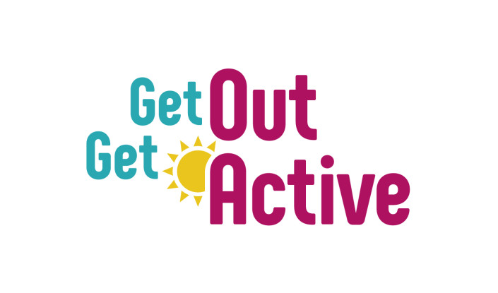 Get out and get active colour video cover