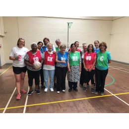 Walking netball group kat   helen visit listing