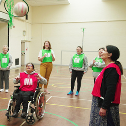 Goga inclusive netball session in nottingham listing